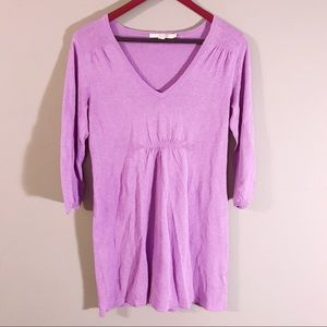 Boden | Lavender Long Sleeve Tunic Dress 10